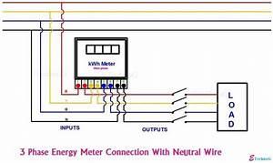 Single Phase 220 Sub Meter Wiring Diagram