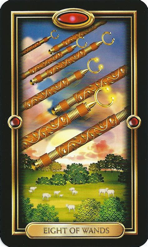 Weekly Tarot (may 28, 2012)  8 Of Wands  Healing Universe