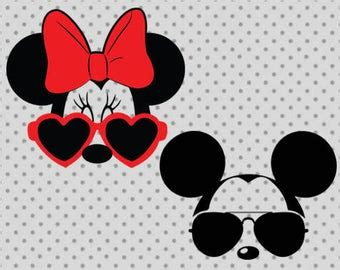 Free disney vector svg, this file can be scaled to use with the silhouette cameo or cricut, brother scan n cut cutting machines. Mickey Mouse Sunglasses Svg Free | David Simchi-Levi