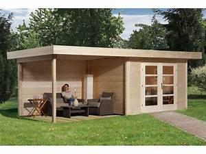 Abri De Jardin Avec Terrasse : abri de jardin bois chill out avec terrasse et espace de ~ Dailycaller-alerts.com Idées de Décoration