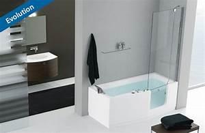 baignoire avec porte castorama meilleures images d With baignoire douche à porte