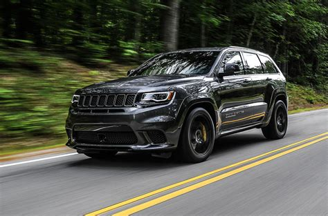 trackhawk jeep cherokee jeep grand cherokee trackhawk 2018 review autocar