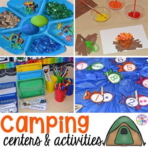 camping centers and activities pocket of preschool 254 | Slide1 7