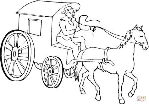 Kleurplaat Paard En Wagen by Coloriage De Cheval Frison A Imprimer Haut Coloriage Hd