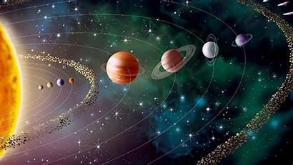 Solar Space Universe System Planets Earth Sun