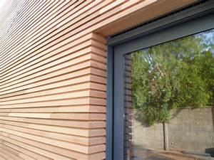 comment poser un bardage en bois exterieur sur une facade With type de bardage bois exterieur