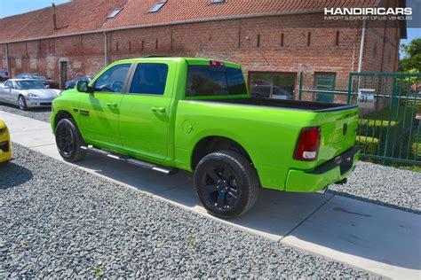 Dodge Ram 1500 Sport Sublime Green Air Suspension