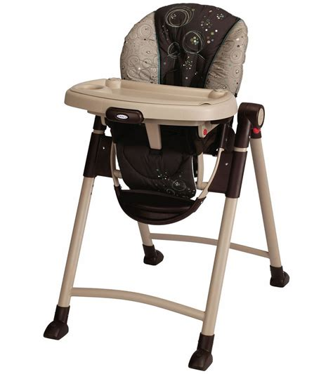 Graco Contempo High Chair Cover by Graco Contempo High Chair Scribbles