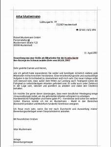 Bewerbungsschreiben muster bewerbungsschreiben for Bewerbungsanschreiben vorlage produktionsmitarbeiter