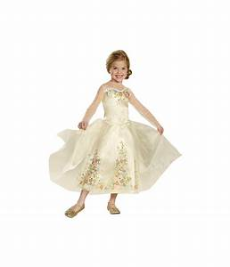kids disney cinderella wedding dress deluxe girls costume With wedding dress costume