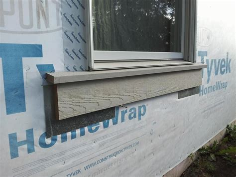 Exterior Window Sill Installation by Exterior Window Trim Proportion To Siding Size Windows
