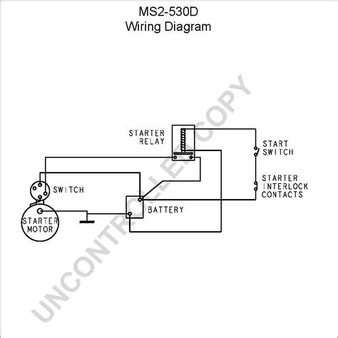 Starter Motor Relay Wiring Diagram Impremedia