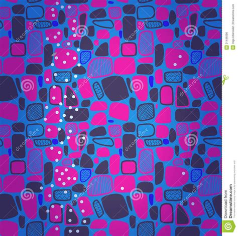 geometric abstract tiles pattern stock 31446590