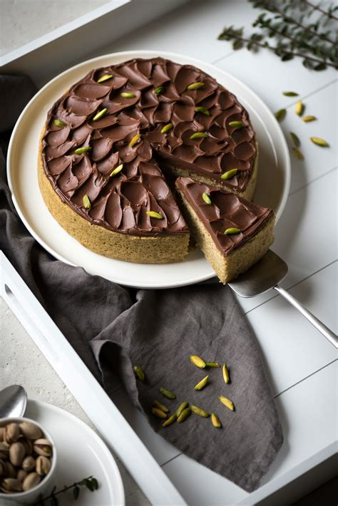 gateau pistache chocolat lilie bakery
