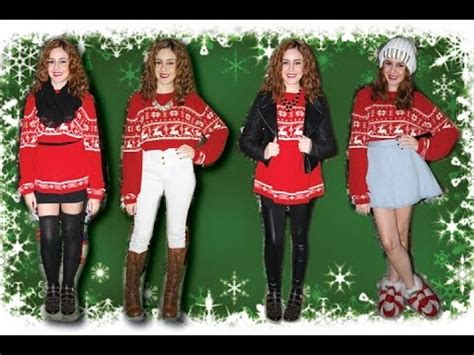 how to wear sweater to christmas party sweater ideas lucykiins