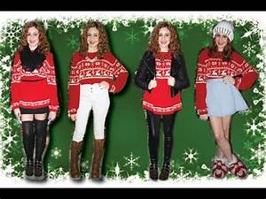 Christmas Sweater Outfit Ideas Lucykiins