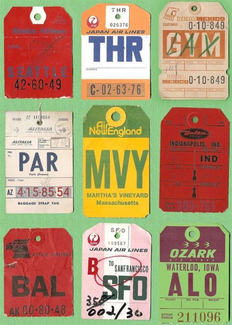 Airline Luggage Tag Template Images Template Design Ideas Vintage Airline Luggage Tags Www Pixshark Images