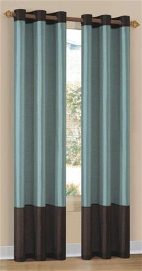 blue and brown curtains blue and brown curtains home design inside