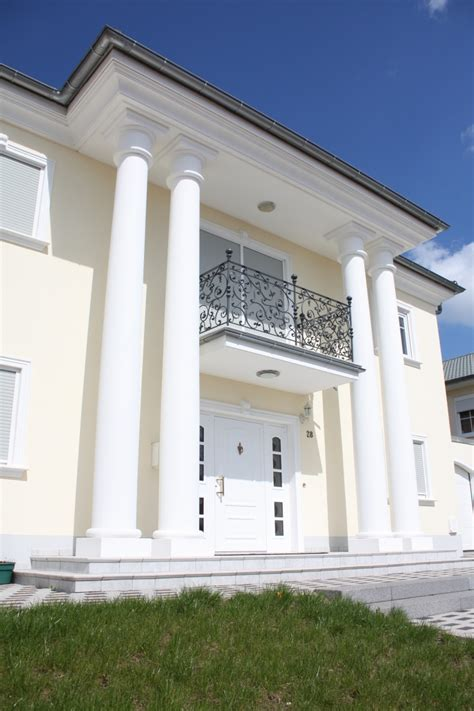 Betonsäulen Für Hauseingang