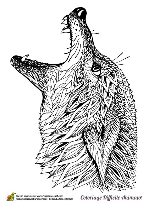 jeux gratuit de cuisine restaurant dessin à colorier d 39 une tête de loup