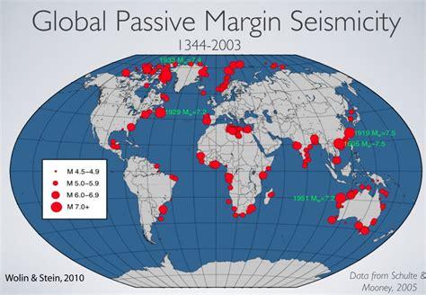 tectonic setting   august  virginia earthquake