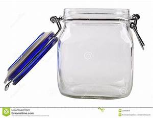 Open Empty Glass Jar Royalty Free Stock Images - Image ...