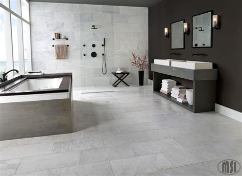 Carrara Marble Bathroom Floor by Dreamy White Marble Bathrooms Are The Best Modern Or