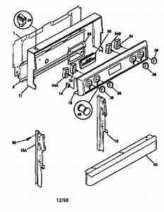 Frigidaire  Frigidaire Dishwasher Parts Diagram