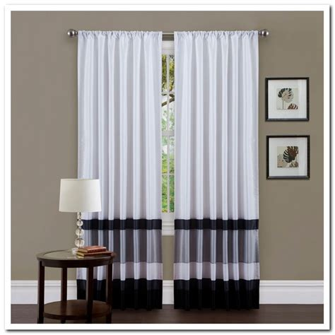 White And Gray Curtains by Curtains Grey And White Decorate The House With