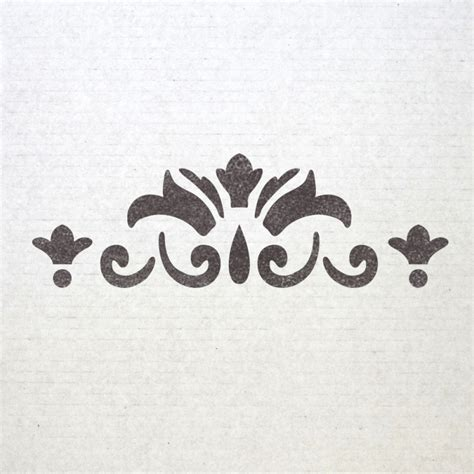 Templates For Stencils by Wall Border Stencils Pattern 007 Reusable Template For Diy