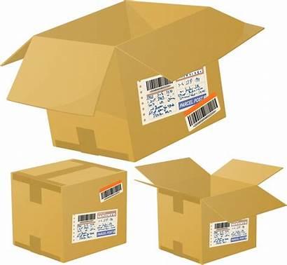 Logistics Vector Special Express Box Clipart Cartons
