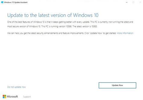 windows 10 creators update with windows 10 update