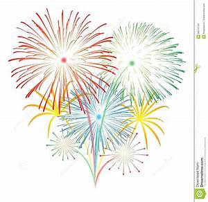 Fireworks vector stock photo Image of festival, abstract