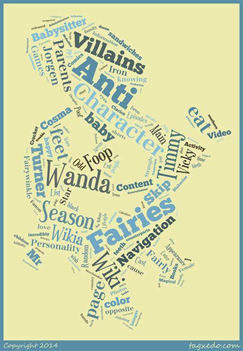 anti wanda word cloud typography by 120dog on deviantart