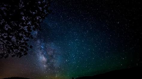 Milky Way Galaxy Night Sky Woodland Park Nikon D800 Time