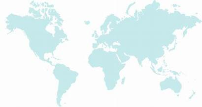 Map Transparent Oceanair Global