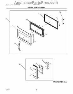 Parts For Frigidaire Ffmv1645tsa  Control Panel  Door  Misc Parts