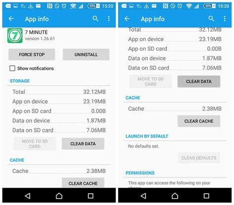 cached data android clear app cache or clear app data what s the difference
