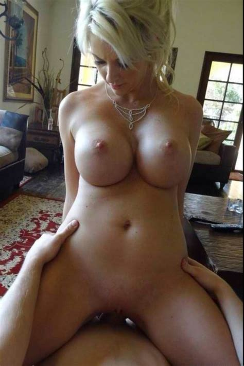 blonde wife with amazing boobs riding cock in full size picture 1