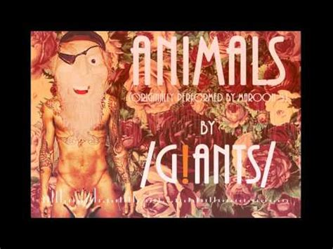 maroon  animals cover  giants youtube