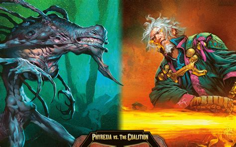 wallpaper   week phyrexia   coalition magic