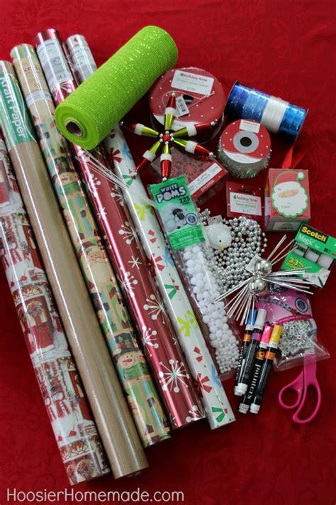 creative gift wrapping hoosier homemade