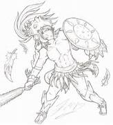 Aztec Eagle Warrior by GrimdarkCC on DeviantArt  Aztec Eagle Warrior Drawing