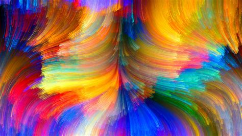 Abstract Colorful Wallpaper  Hd Bright Colors Wallpaper