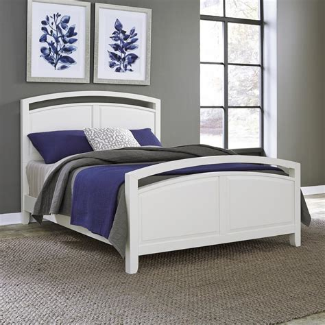 home styles newport white queen bed frame 5515 500 the