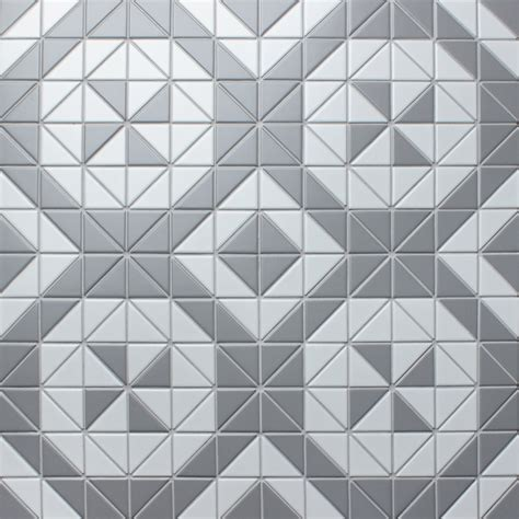 windmill pattern 2 matte triangle triangle tile flooring