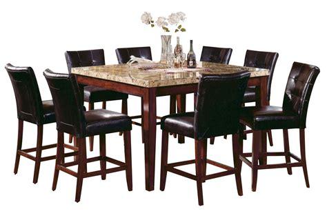 gathering dining tables montibello marble gathering table at gardner white 1200