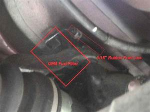 Fuel Filter Replacement    Upgrade  With Pics