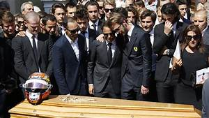 Jules Bianchi: Formula One stars join family at funeral ...