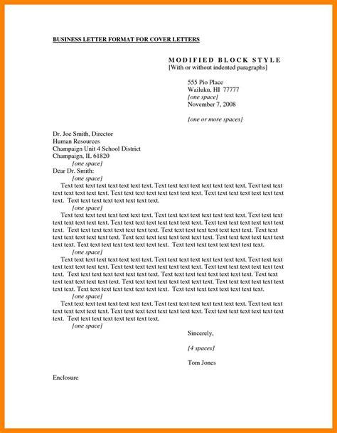business letter format  enclosures enclosure notation